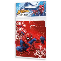 Spiderman Gift Tags