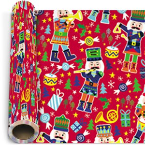 Festive Fun Christmas Gift Wrapping Paper - 5m