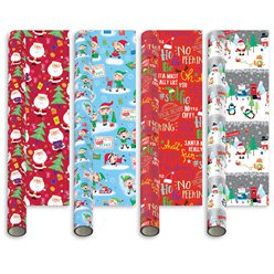 Novelty Cute Gift Wrap - 5m