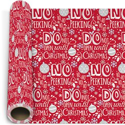 Cosy Christmas Gift Wrapping Paper - 5m