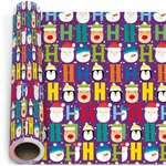 Kids Novelty Christmas Gift Wrapping Paper - 5m