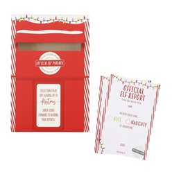 Elf Report Cards and Post Box