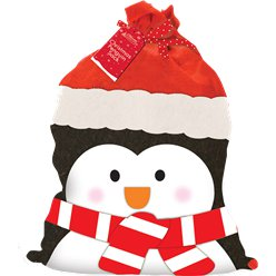Penguin Christmas Sack - 73cm