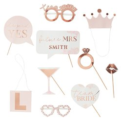 Hen Party Customisable Photobooth Props