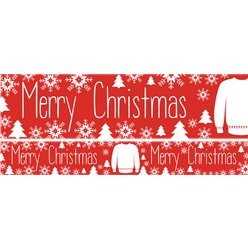 Christmas Jumper Paper Yard Banners 1 design 1m each