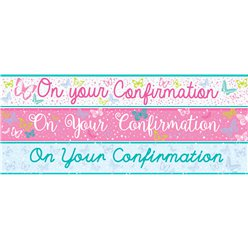 On Your Confirmation Paper Banners 3 designs 1m each