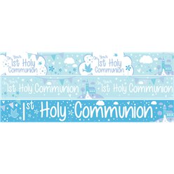 First Holy Communion Paper Banners 3 designs 1m each