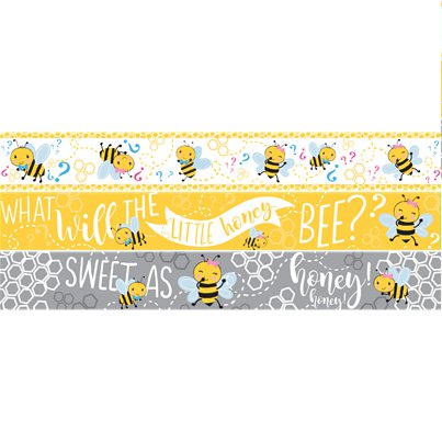 What Will It Bee Paper Banners - 1m