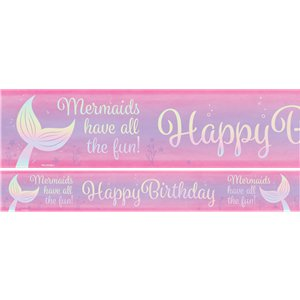 Mermaid Shine Paper Banners - 1m
