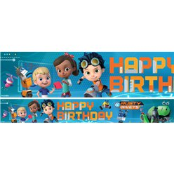 Rusty Rivets Paper Banners - 3 Designs 1m Each