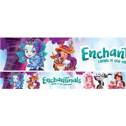 Enchantimals Paper Banners - 1m