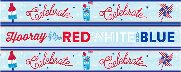 4th July Paper Banners - 3 Designs