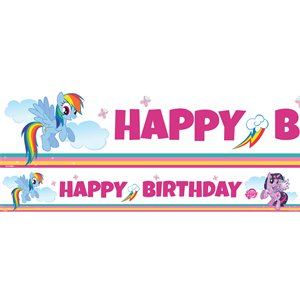 My Little Pony Paper Banners - 1m