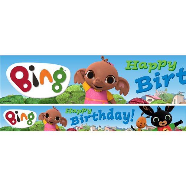 Bing Latex Balloons Pack Of 6 One Size