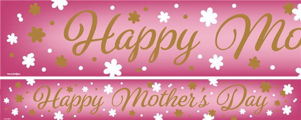 Mother's Day Paper Banners