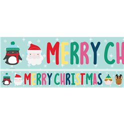 Festive Friends Paper Banners