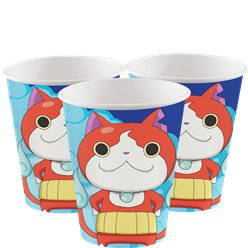 Yo-Kai Watch Cups - 266ml Paper Party Cups