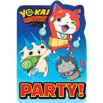 Yo-Kai Watch Invites - Party Invitation Cards
