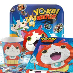 Yo-Kai Watch Party Pack - Value Pack For 8