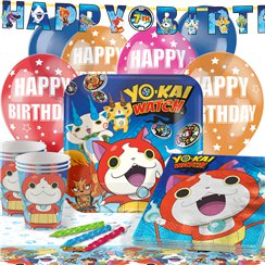 Yo-Kai Watch Party Pack - Deluxe Pack for 16