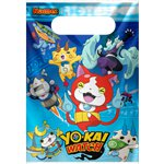 Yo-Kai Watch Party Bags - Plastic Loot Bags