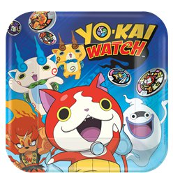 Yo-Kai Watch Plates - 23cm Paper Party Plates