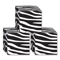 Zebra Print Favour Boxes