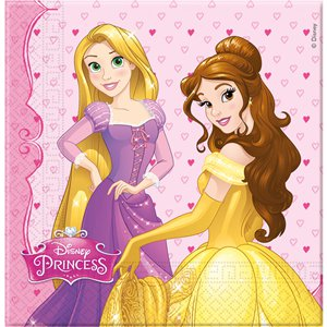 Disney Princess Party Napkins - 2ply Paper