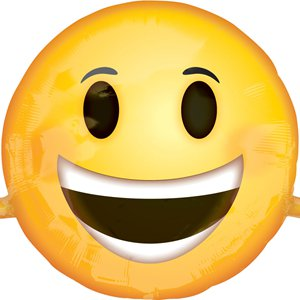 Emoji Smiling Face SuperShape Balloon - 39