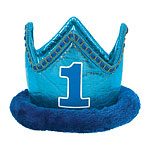 Boy's 1st Birthday Crown