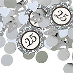 25th Anniversary Table/Invite Confetti
