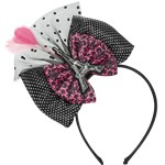 A Day in Paris Bow Deluxe Headband