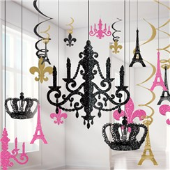 A Day in Paris Glitter Chandelier Kit - 37cm