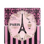 A Day in Paris Dessert Plates - 17cm Party Party Plate