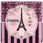 A Day in Paris Plates - 26cm Paper Party Plates