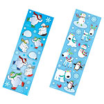 Joyful Snowman Stickers