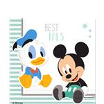 Baby Mickey Napkins - 2ply Paper