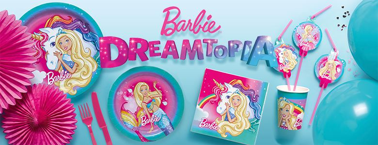 Barbie Dreamtopia Party Supplies