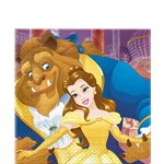 Beauty & The Beast Paper Napkins - 33cm