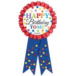 Birthday Bright 'Happy Birthday' Ribbon