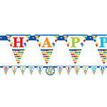 Birthday Bright Personalisable Banner - 3.2m