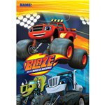 Blaze and the Monster Machines Party Bags - Plastic Loot Bags