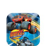 Blaze and the Monster Machines Dessert Plates - 17cm Paper Party Plates