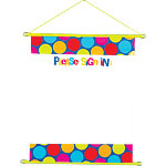 Cabana Dots Sign In Scroll - 58cm