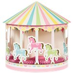 Carousel Party 3D Honeycomb Centerpiece