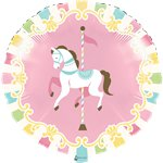 Carousel Party Foil Balloon - 18""
