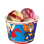 DC Super Hero Girls Ice Cream Treat Tubs