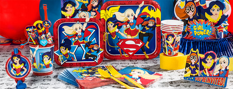DC Superhero Girls Party Supplies
