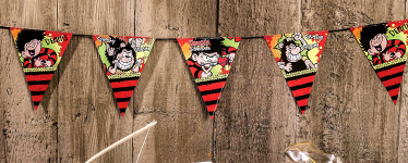 Dennis the Menace Bunting - 2.5m Paper
