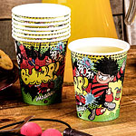 Dennis the Menace Cups- 255ml Paper Party Cups